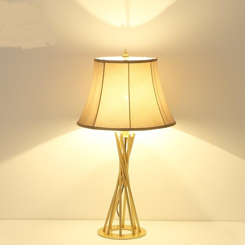 Американский стиль настольные лампы спальня ночники ретро сельских простой европейский стиль Свадебные кабинет настольные лампы za8295