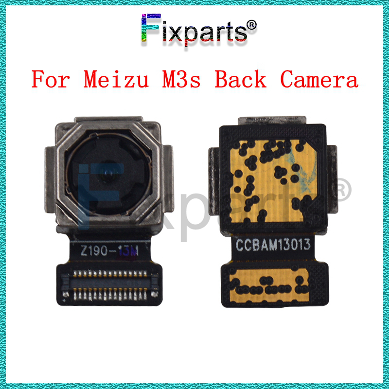 Original 100% Tested Working Back Big Rear <font><b>camera</b></font> Board Flex Cable <font><b>Meizu</b></font> <font><b>M3S</b></font> <font><b>m3s</b></font> mini Mobile Phone <font><b>Camera</b></font> Modules image