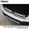 CNparts для Hyundai Creta IX25 авто задний багажник двери Бампер анти полоски от царапин аксессуары