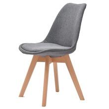 H Высокое качество простой современный домашний стул для столовой задний офисный стул креативный твердый деревянный Северный стул офисный стул