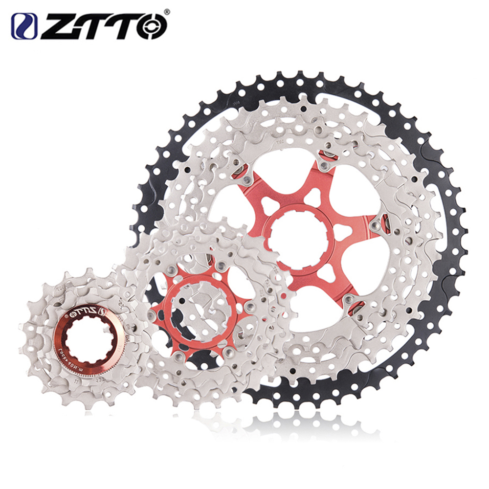 ZTTO MTB Mountain Bike Cassettes 11 Speed SL 11-50t Wide Ratio Spuerlight Bicycle Freewheel Part for Shimano k7 X1 XO1 XX1 m9000 все цены