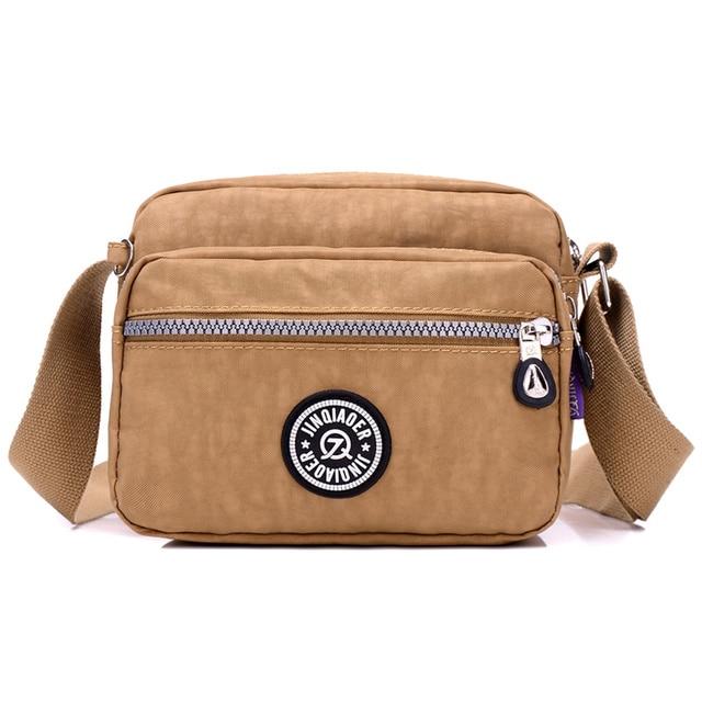 2017 novas mulheres casuais ombro sacos de nylon à prova d' água fêmea bolsas meninas messenger sacos pequeno crossbody mulheres mini bags
