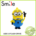 Pen drive minion Kartun New Minion Despicable Me 2, USB Flash Drive For USB 3.0 Thumb/Mobil/Pen Hadiah