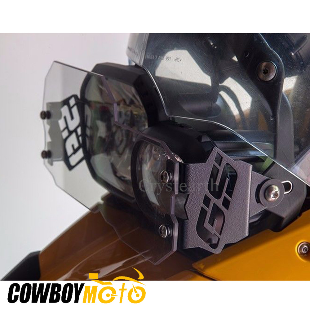Front Headlight Guard Cover Clear Lens Head Light Lamp Protector For <font><b>BMW</b></font> F700GS F800GS 2008-2016 F650GS 08-13 <font><b>F</b></font> 650 <font><b>700</b></font> 800 <font><b>GS</b></font> image