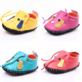 2016 Classic PU Leather Infant Toddler Newborn Baby Boy Girl Prewalkers dog Shoes Child Soft Rubber Soled Footwear