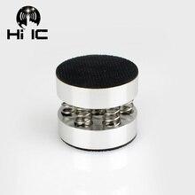 Głośniki hi fi obudowa wzmacniacza ze stali nierdzewnej stalowa sprężyna Anti shock amortyzator stopy podnóżek Pin absorpcji drgań stoi