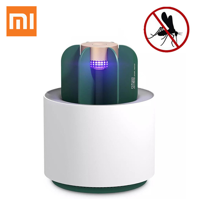 New Xiaomi Ecological brand Sothing Mosquito Killer Lamp Portable cactus USB Electric Mosquito Repellent Insect Trap UV Light