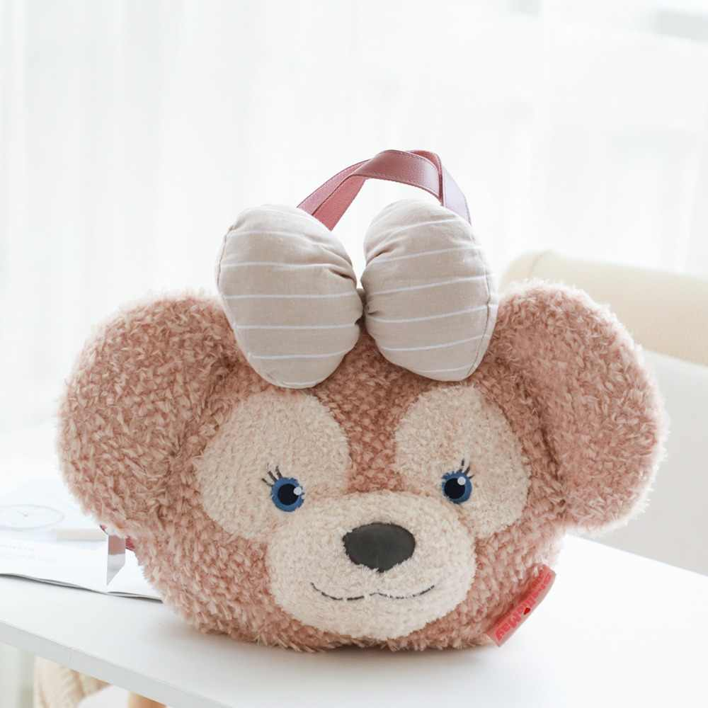 Tokyo Disney Duffy Bear ShellieMay Face Plush Shoulder Bag