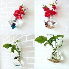 Милый прозрачный стеклянный Декор для дома в форме ангела, Цветочная подставка для растений, подвесная ваза, Декор, Висячие флаконы, прозрачные горшки для детской комнаты
