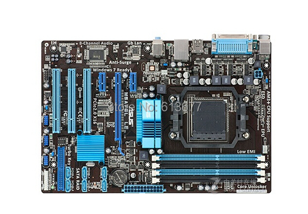 D'origine Livraison gratuite carte mère asus M5A78L LE DDR3 Socket AM3/AM3 + support 32G RAM livraison gratuite