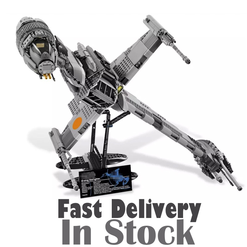 Lepin 05045 B-Wing Starfighter STAR Ultimate Collector WARS 1487PCS Building Bricks Blocks Toys For Children Compatible 10227