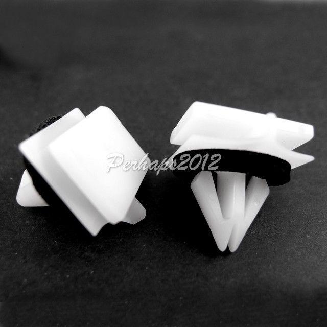 Clip de moldeo Panel Blanco Para Mitsubishi Nissan Toyota GM Suzuki Honda