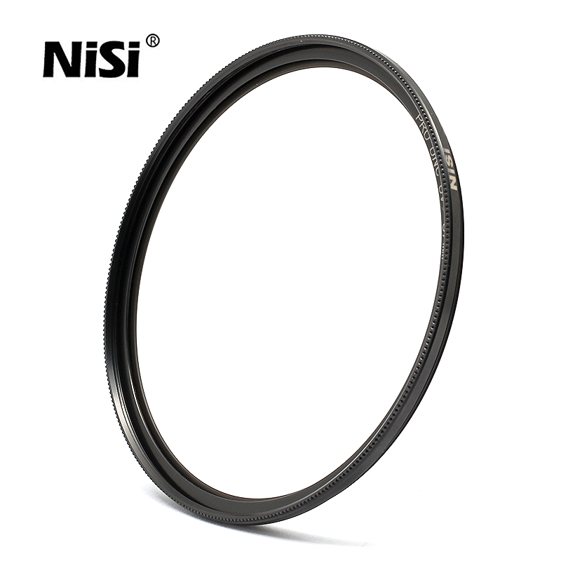NiSi Ultra Slim PRO Nano UNC UV Filter Multi Coated Lens Protector High Definition for Lenses 82 77 72 67 62 58 52mm