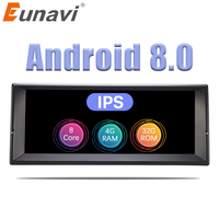 Eunavi 1 Din Octa Core Android 8,0 радио gps стерео системы для BMW E39 X5 E53 10,2 ''автомобильный мультимедийный плеер 3g 4G Wi Fi ips экран
