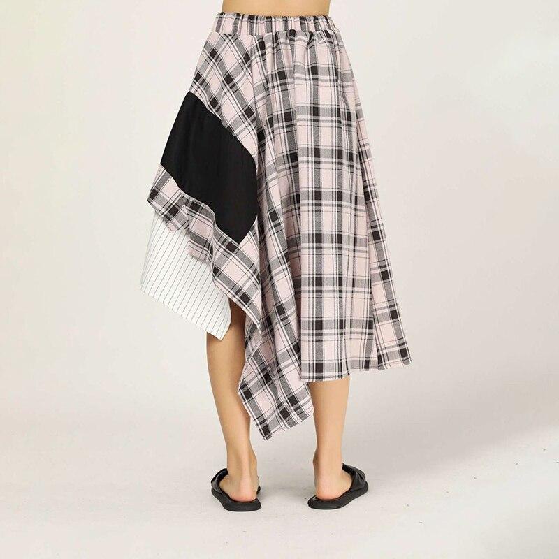 Irregular Stop118 Mid-calf Skirts 8