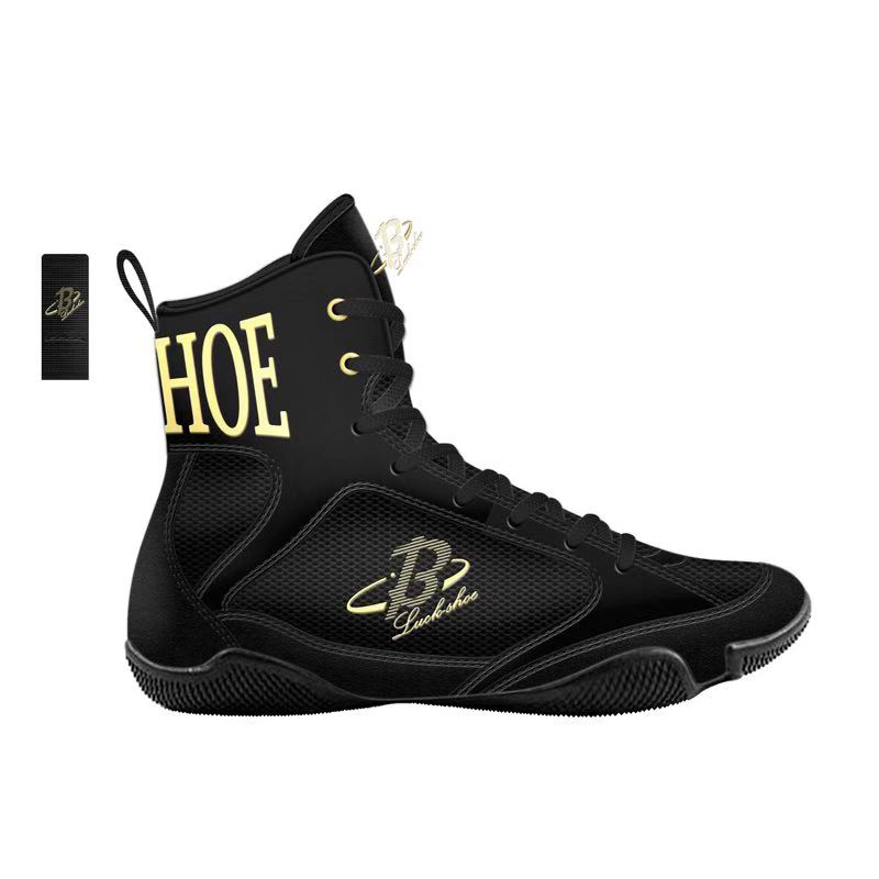 High Quality Wrestling Shoes For Men Training Shoes Professional Boxing Shoes Leather Women Wrestling Costume Shoes Wrestling image