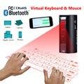 Envío libre! Teclado de Proyección Láser Virtual AP Inalámbrica Bluetooth Para Smartphone Tablet PC