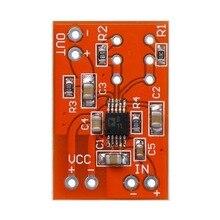 SSM2167 Microfone Preamplifier Board Baixo Ruído Módulo DC 3 v-5 v COMP Compression