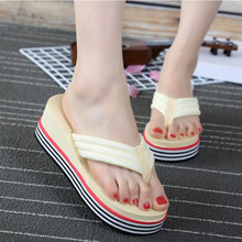 Arrival Summer Flip Flops High Quality Beach Sandals Non-slide Slippers Casual Shoes Outdoor Summer Beach Slippers 2019 New цена 2017
