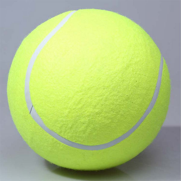 New Giant 9.5 Tennis Ball Signature Signal Pet Chews Toys Dogs Playing Dog Supplies Outdoor Sports Beach