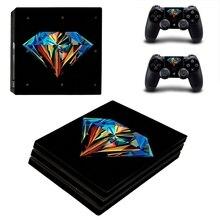 Homereally PS4 Pro Skin Perfect алмазы пользовательских vinly ПВХ Стикеры чехол для playstaion 4 Pro консоли и контроллер кожи PS4 pro