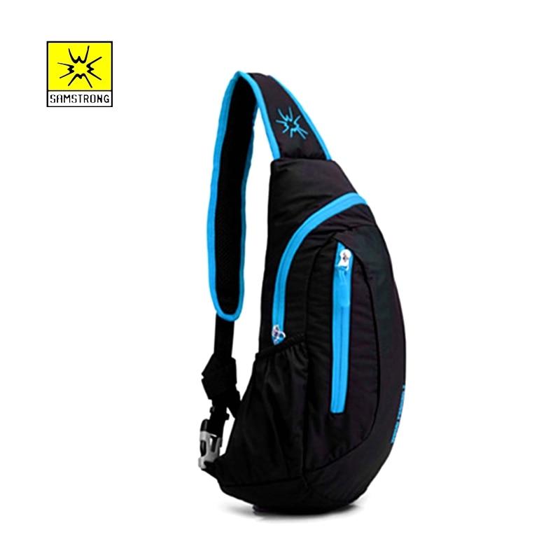 Samstrong 7L Crossbody Bag Chest pack Men Women Sport Bags Outdoor Shoulder Bag Camping Hiking Running Hiking Climbing Backpack