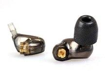 Doble SE535 Controlador Dinámico En la Oreja Con Cable de 3.5 MM Deporte Separar Hifi IE800 auriculares de Ruido de Cancell Auriculares Bass Con Paquete de Envío nave