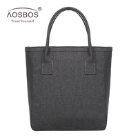 Aosbos New Portable Lunch Bag Waterproof Picnic Bag For Women Men Kids Large Capacity Cooler Bags