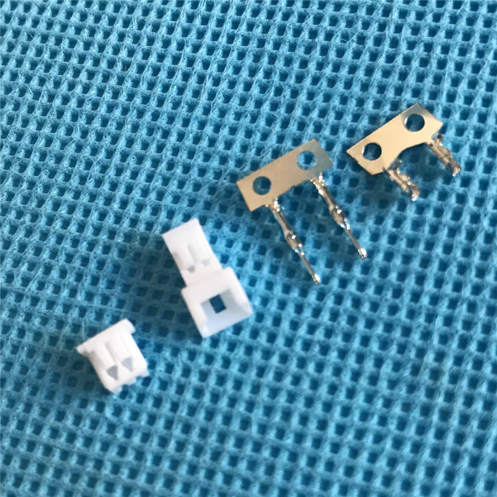 Micro JST Losi Walkera 2-pin Connector plug Male, Female with Crimps x 50 Sets jst xh2 54 2 3 4 5 6 78 9 10 pin connector plug male female crimps x 50sets