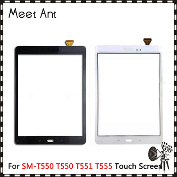 """10Pcs/lot 9.7"""" For Samsung Galaxy Tab A 9.7 SM-T550 T550 T551 T555 Touch Screen Digitizer Sensor Front Outer Glass Lens Panel"""