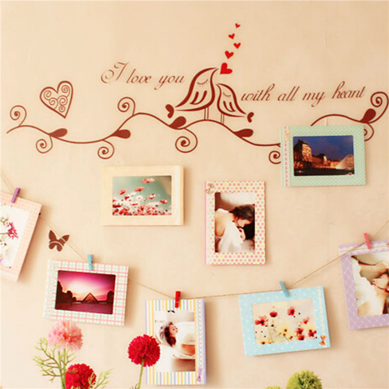 Diy 6 Hanging Paper Photo Frames Decor Hanging Memory