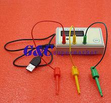 SainSmart SM-328 Transistor Tester Capacitor ESR Inductance Resistor Meter LCR mk 328 transistor tester capacitor esr inductance resistor meter lcr npn pnp mos