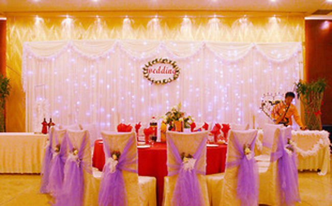2018 pure white wedding backdrop shiny stage curtain 10ft 20ft 2018 pure white wedding backdrop shiny stage curtain 10ft 20ft wedding decoration with flow water star lit led lights in party backdrops from home junglespirit Image collections