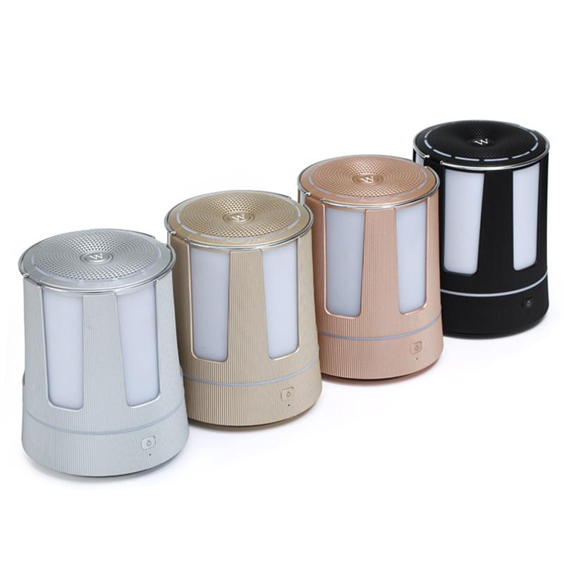 Wireless Portable Mini Bluetooth Speaker With LED Flashing Lights FM Radio Audio Input Voice For Outdoor Party Holiday wireless bluetooth speaker cute mushroom waterproof sucker mini bluetooth speaker audio outdoor portable bracket for xiaomi ipad