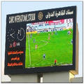 Leeman P16 outdoor stadium led advertising panel, football stadium perimeter led screen display