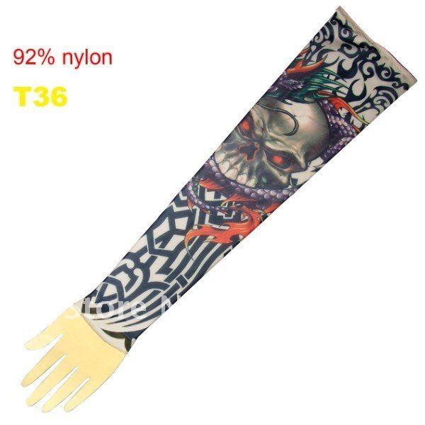 10pcs Novelty Tattoos Sleeves Mixed Designs Arm Sleeve Tattoos