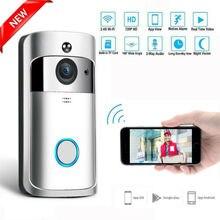 Smart IP Video Intercom WI-FI Video Door Wireless Smart WiFi Doorbell IR Video Camera Intercom Record Home Security Bell wi fi video smart doorbell with 2 ways audio and video sensor1280 x 720 field of view180 degree video hd 720p