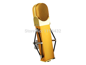 Golden blueberry style professional studio computer vocal recording condenser microphone internet video live show