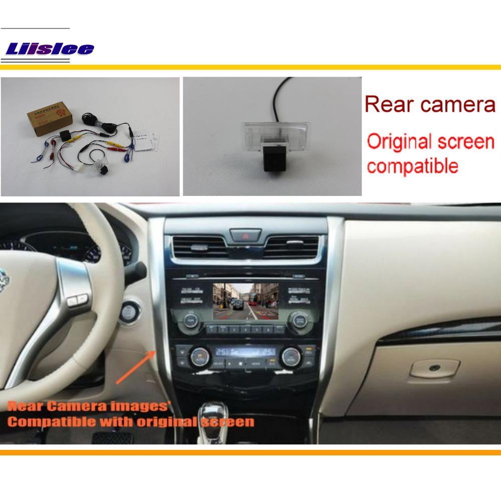 Liislee Car Camera cu vedere din spate pentru camera Nissan Teana / - Electronică Auto