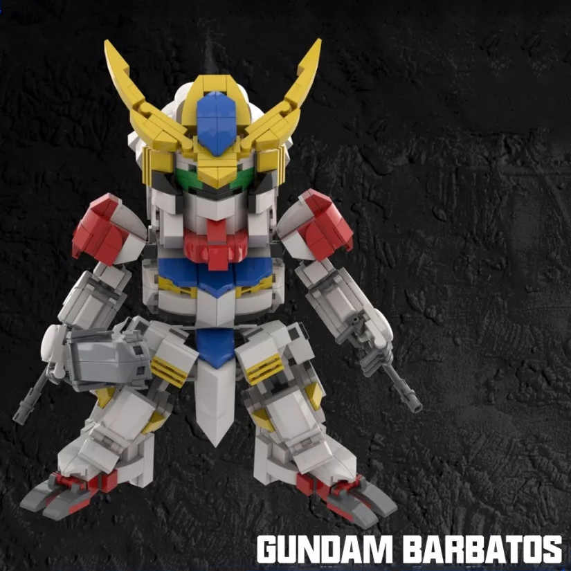 2019 Kennie New Arrive Personal diy Gundam Barbatos model Blocks building toys Action Figure for Creative children gifts