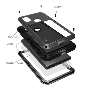 Image 2 - Love Mei Metal Case For Xiaomi Mi 6 8 9 Max 2 Max 3 MIX 2 MIX 2S Shockproof Phone Cover For Xiaomi 9 Rugged Anti Fall Armor Case