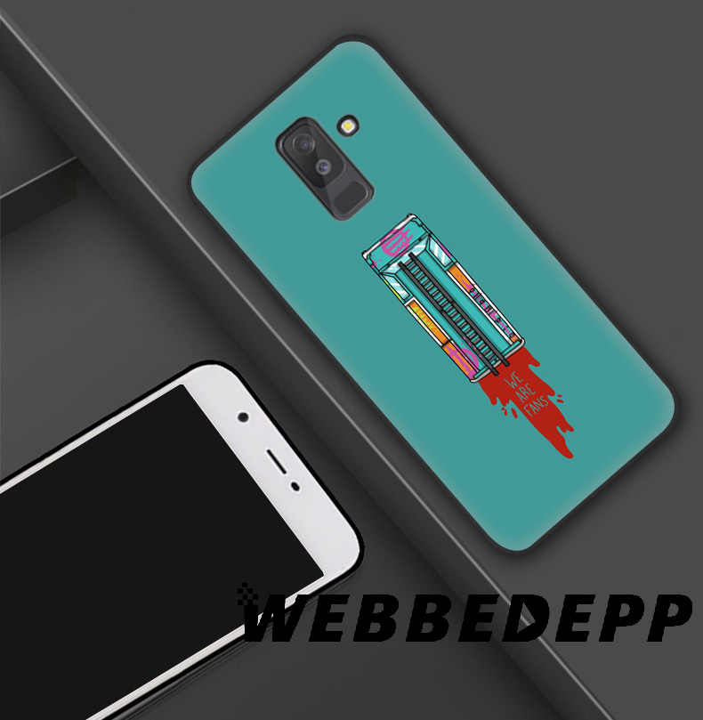 WEBBEDEPP Hotline Miami Molle di TPU Custodia In Silicone per Samsung Galaxy S10 S10e S9 S8 Più S7 S6 Bordo & J6 cassa del telefono
