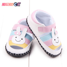 Neonatal Baby Shoes Baby Toddler First Walkers Crib Floral Soft Soled Anti-Slip Shoes Infant Newborn Girls Princess Shoes retro women strappy beaded woven floral print anti slip cloth shoes woman gift