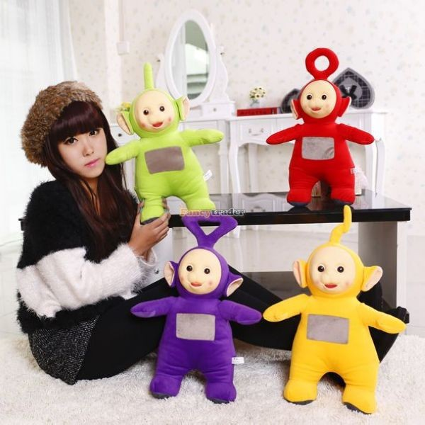 Fancytrader 1 pc 20\'\' 50cm Super Lovely Plush Stuffed  Teletubbies Toy, 4 colors Free Shipping FT50218 (2)