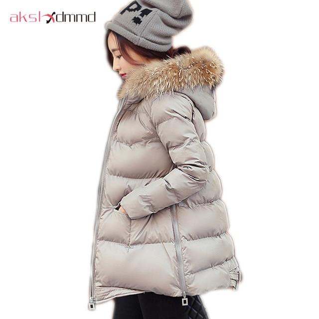 AKSLXDMMD2017 New Style Winter Jacket Women Short Parka Jacket ...