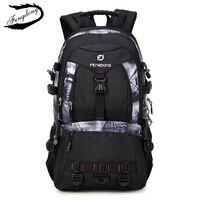 Fengdong Brand Men Backpack Mountaineering Bags Large Capacity Multi Functional Travel Backpack For Men