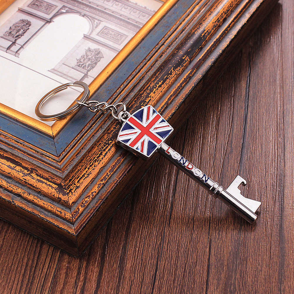 Vicney New Arrival London Key Key Chain United Kingdom Style Keychain High Quality Fashion Key Chain Key Ring Gift For Men Pants