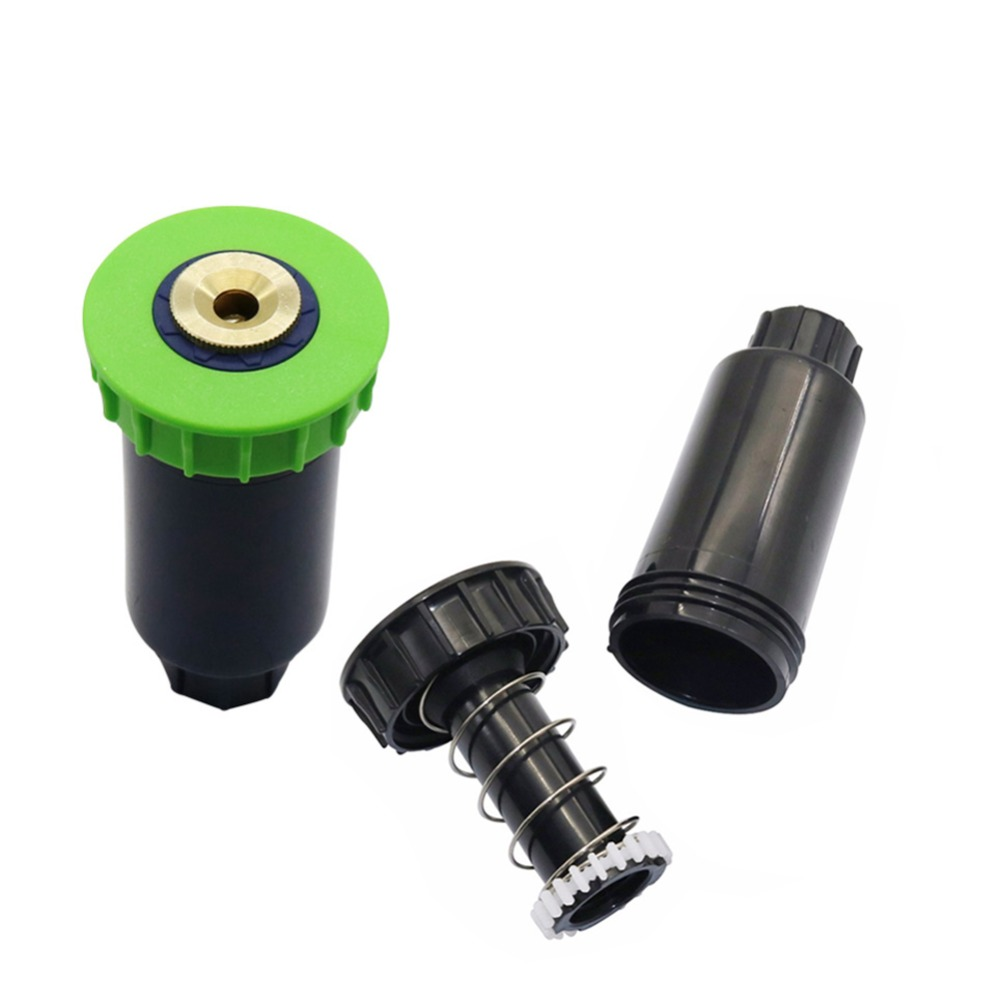 90 180 360 Degree Landscaping Popup Sprinklers 1 2 Inch Inner Thread Gear Drive Garden Water