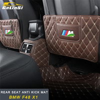 GELINSI rear seat anti kick mat Interior Accessories For BMW F48 X1 2016 2017 2018 Auto Car styling