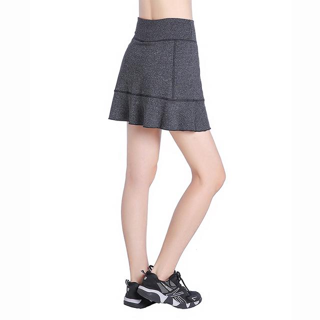 EAST HONG Women's Tennis Running Sport Skorts Badminton Golf Shorts Skirts